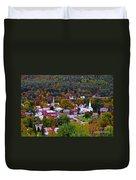 South Royalton Vermont Duvet Cover