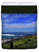 South West Coastline Duvet Cover