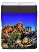 Southbound On Us 93 Duvet Cover