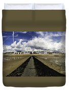 Southend On Sea Panorama Duvet Cover