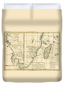 Southern Africa Duvet Cover
