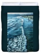 Southern California Beach Duvet Cover