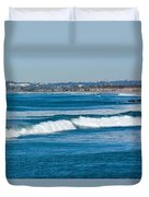 Southern California Coast Duvet Cover