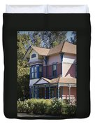 Southern California Painted Lady Duvet Cover