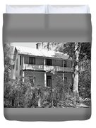 Southern Charm Black And White Duvet Cover