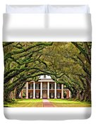 Southern Class Painted Duvet Cover