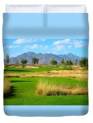 Southern Dunes Golf Club - Hole #14 Duvet Cover