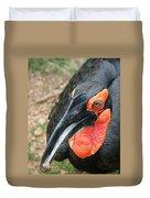 Southern Ground Hornbill Duvet Cover