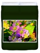 Southern Missouri Wildflowers 1 Duvet Cover