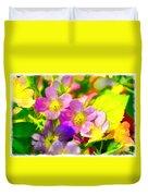 Southern Missouri Wildflowers 1 - Digital Paint 1 Duvet Cover
