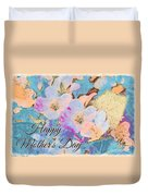 Southern Missouri Wildflowers -1 Mother's Day Card Duvet Cover