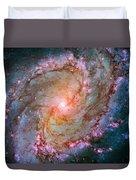 Southern Pinwheel Galaxy - Messier 83 -  Duvet Cover