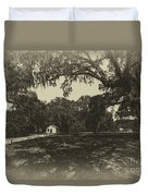 Southern Plantation Path Duvet Cover