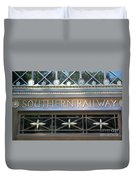 Southern Railway Building Duvet Cover