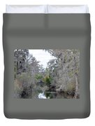 Southern Swamp Duvet Cover