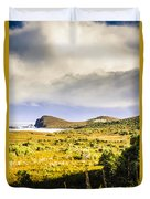 Southern Tip Of Bruny Island Duvet Cover