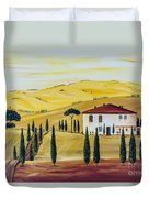 Southern Tuscany Duvet Cover