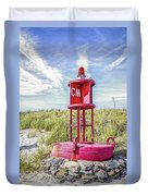Southernmost Point Buoy- Cape May Nj Duvet Cover
