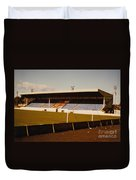Southport Fc - Haig Avenue - Main Stand 2 - 1970s Duvet Cover