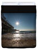 Southsea Pier Duvet Cover