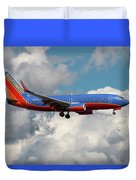 Southwest Airlines Boeing 737-700 Duvet Cover
