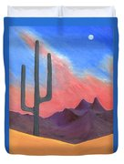 Southwest Scene Duvet Cover