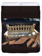 Southwestern Style Bench Duvet Cover