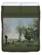 Souvenir Of Coubron Duvet Cover