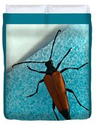 Space Age Beetle Duvet Cover