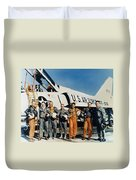 Space: Astronauts, C1961 Duvet Cover