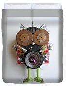 Space Bug Duvet Cover by Jen Hardwick