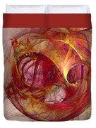 Space Demand Abstract Art Duvet Cover