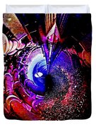 Space In Another Dimension Duvet Cover