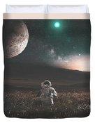 Space Man Duvet Cover