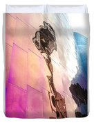 Space Needle Reflection Duvet Cover