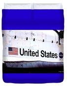 Space Shuttle Atlantis Duvet Cover