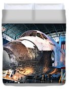 Space Shuttle Discovery View No. 2 Duvet Cover