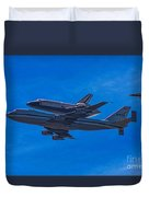 Space Shuttle Endevour Duvet Cover