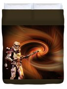 Space Soldier Duvet Cover
