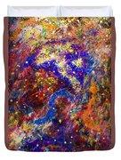 Space Stars Duvet Cover