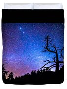Space The Final Frontier Duvet Cover