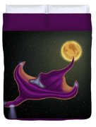 Spaceship Duvet Cover