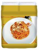 Spaghetti Bolognese Duvet Cover