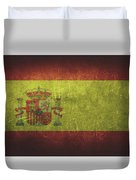 Spain Distressed Flag Dehner Duvet Cover