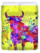 Spanish Bull  Toro Bravo Duvet Cover