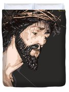 Spanish Christ Duvet Cover