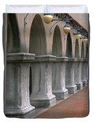 Spanish Columns Duvet Cover