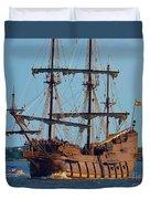 Spanish Galleon Duvet Cover