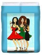 Spanish Girls Duvet Cover