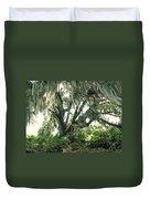 Spanish Moss In Motion Duvet Cover